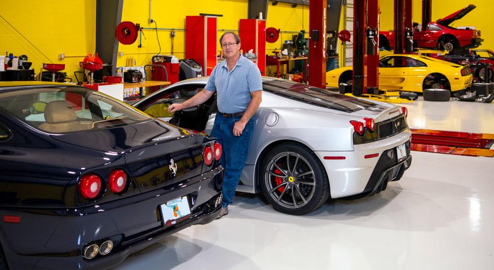 About David Feinberg Sarasota Italian Garage Ferrari Expert